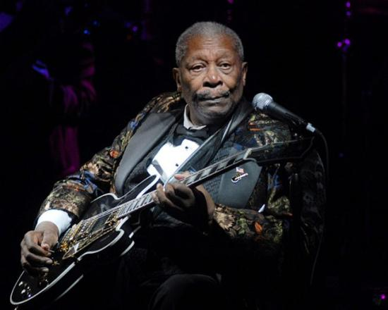 BB King musicien de ma page acceuil